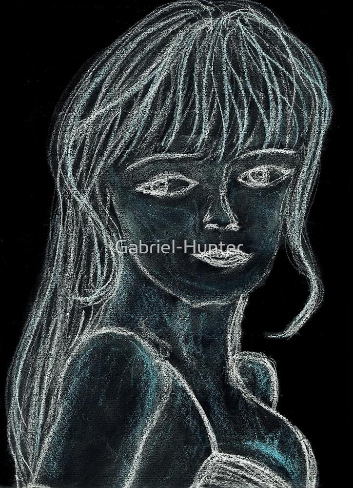 Medusa - Drawing by Gabriel-Hunter