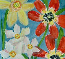 Bold Spring Flowers by Shoshonan