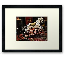 Favourite Toy of Yesteryear Framed Print