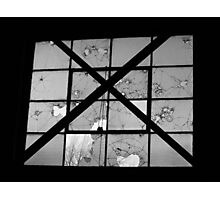 Bordeom and Bullets- Black and White Photographic Print