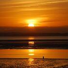 Coastal Path Sunset by Lucy Adams