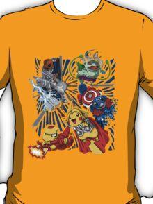 pokemon avengers T-Shirt