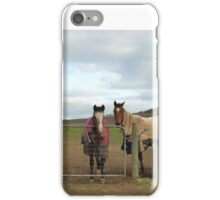 'THE THREE AMIGOS!' On the coldest first day of winter since 1987. iPhone Case/Skin