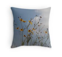 Wild Coreopsis Throw Pillow