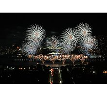 Skyfire 25, Canberra Photographic Print