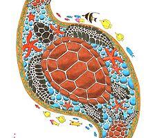 Sea Turtles by JohnMeszaros
