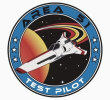 Area 51 Test Pilot by Waves