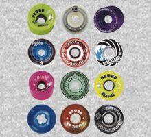 Skateboard Wheels by Sarah King