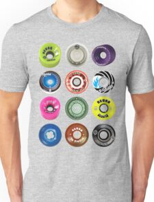 Skateboard Wheels Unisex T-Shirt