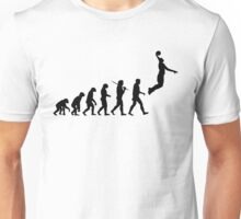 Evolution - jump Unisex T-Shirt