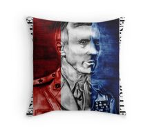 General Smedley Butler: Semper Fi (Always Faithful) Personified, Style 1 Throw Pillow