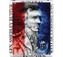 General Smedley Butler: Semper Fi (Always Faithful) Personified, Style 1 iPad Case/Skin