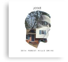 J. Cole - 2014 Forest Hills Drive Canvas Print