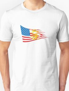 Hot Rod Nation flag T-Shirt