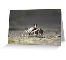 Crab Louie Greeting Card