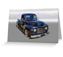 F Truck Greeting Card