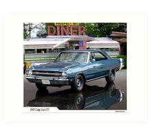 1969 Dodge Dart GTS Art Print