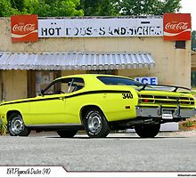 1971 Plymouth Duster 340 by 454autoart