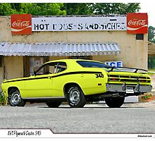 1971 Plymouth Duster 340 Photographic Print