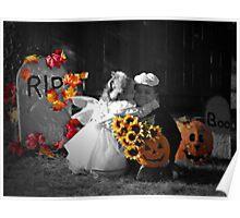 A Halloween Kiss Poster