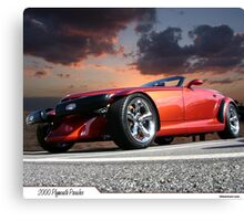 2000 Plymouth Prowler Canvas Print
