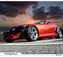 2000 Plymouth Prowler Photographic Print