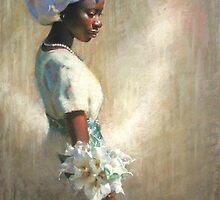 African Lilies by Dan Lewis