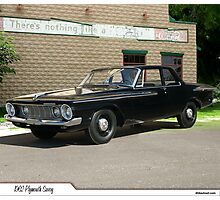 1962 Plymouth Savoy Photographic Print