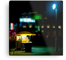 Find me under the light $3.50 Metal Print