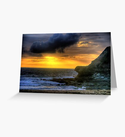 Day Break - Warriewood Beach - The HDR Experience Greeting Card