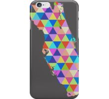 Florida Colorful Geometric Triangles - Hipster Florida iPhone Case/Skin