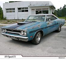 "1970 Plymouth GTX ""Barn Find"" Photographic Print"
