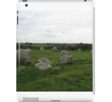 BOSCAWEN-UN STONE CIRCLE iPad Case/Skin