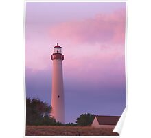 Lighthouse At Cape May Poster