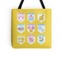 MERIT BADGES Tote Bag