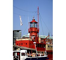 Fireship Photographic Print