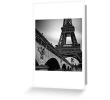 Tour de Eiffel Greeting Card