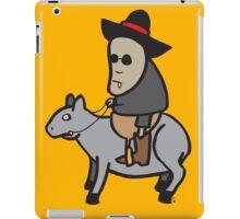 The tapir kid iPad Case/Skin