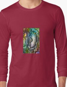 iphone case - foil abstract 003 Long Sleeve T-Shirt