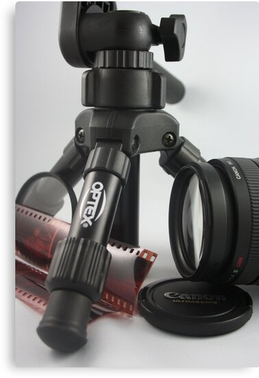 Photographers Equipment by Lynn  Gibbons