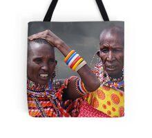 MASAI BEADS - KENYA Tote Bag