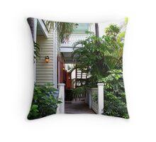 Tropical Life Throw Pillow