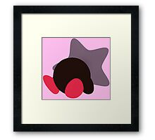 Kirby (Kirby Version) - Sunset Shores Framed Print