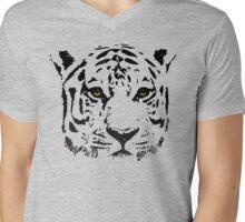 Sad tiger Mens V-Neck T-Shirt