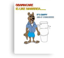 Obamacare Stinks! Canvas Print