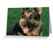 A Loyal Friend Greeting Card