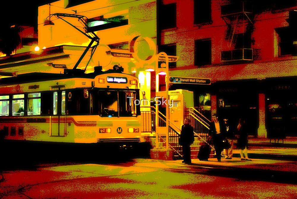 Downtown Metro by Tom-Sky