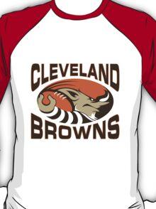 cleveland brown  T-Shirt