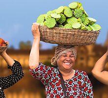 Khmer flavors: fruit, fiber & protein. by Darren Wilch