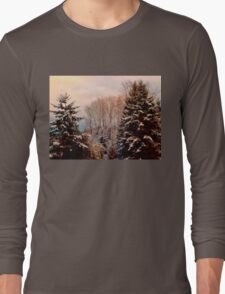 Snow in the Northwest Long Sleeve T-Shirt